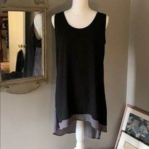 Black and Gray Tunic
